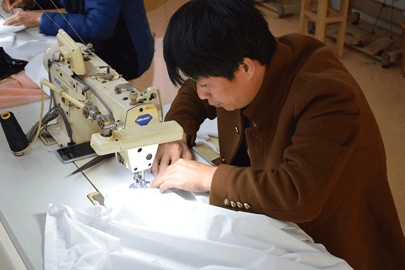 clothing manufacturing company china with sample making service