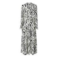 Animal Print Latest Causal Chiffon Dress