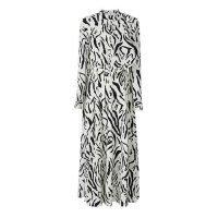 Animal Print Latest Causal Chiffon Dress