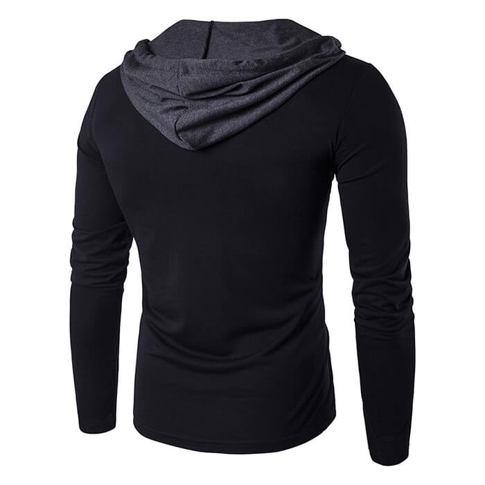 Custom Logo Mens Sports Hooded Sweatshirts