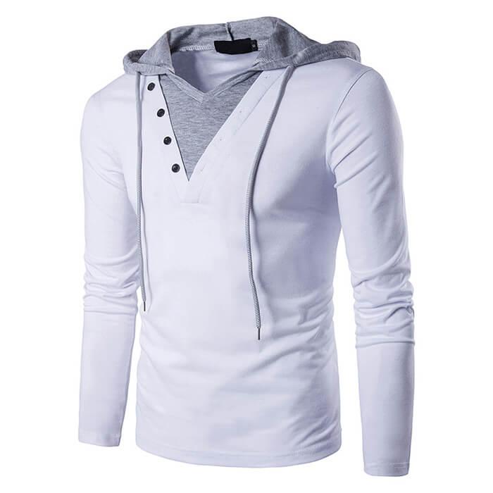 Custom Logo Mens Sports Hooded Sweatshirts