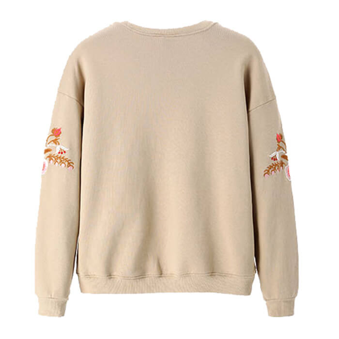 Embroidered SweatShirt Cothing Manufacturing Company