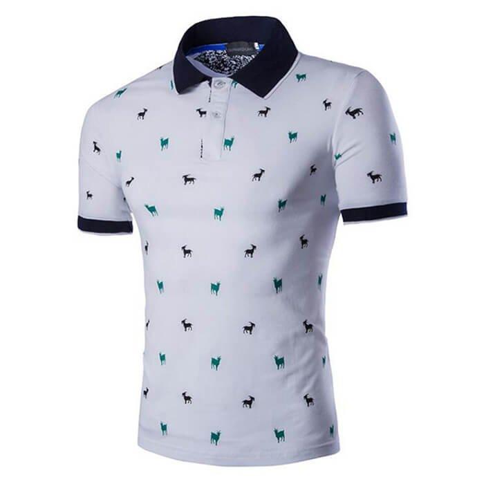 Men Polo Shirt Slim Fit Classic