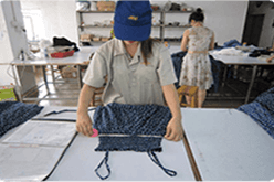 Clothing Manufacturing Company with quality control service