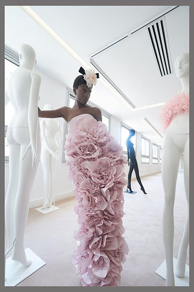 Giambattista Valli- flared dress clothing manufacturer