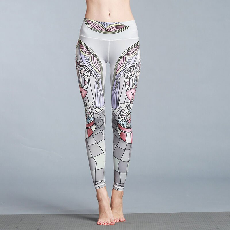 Polyester Gym Leggings
