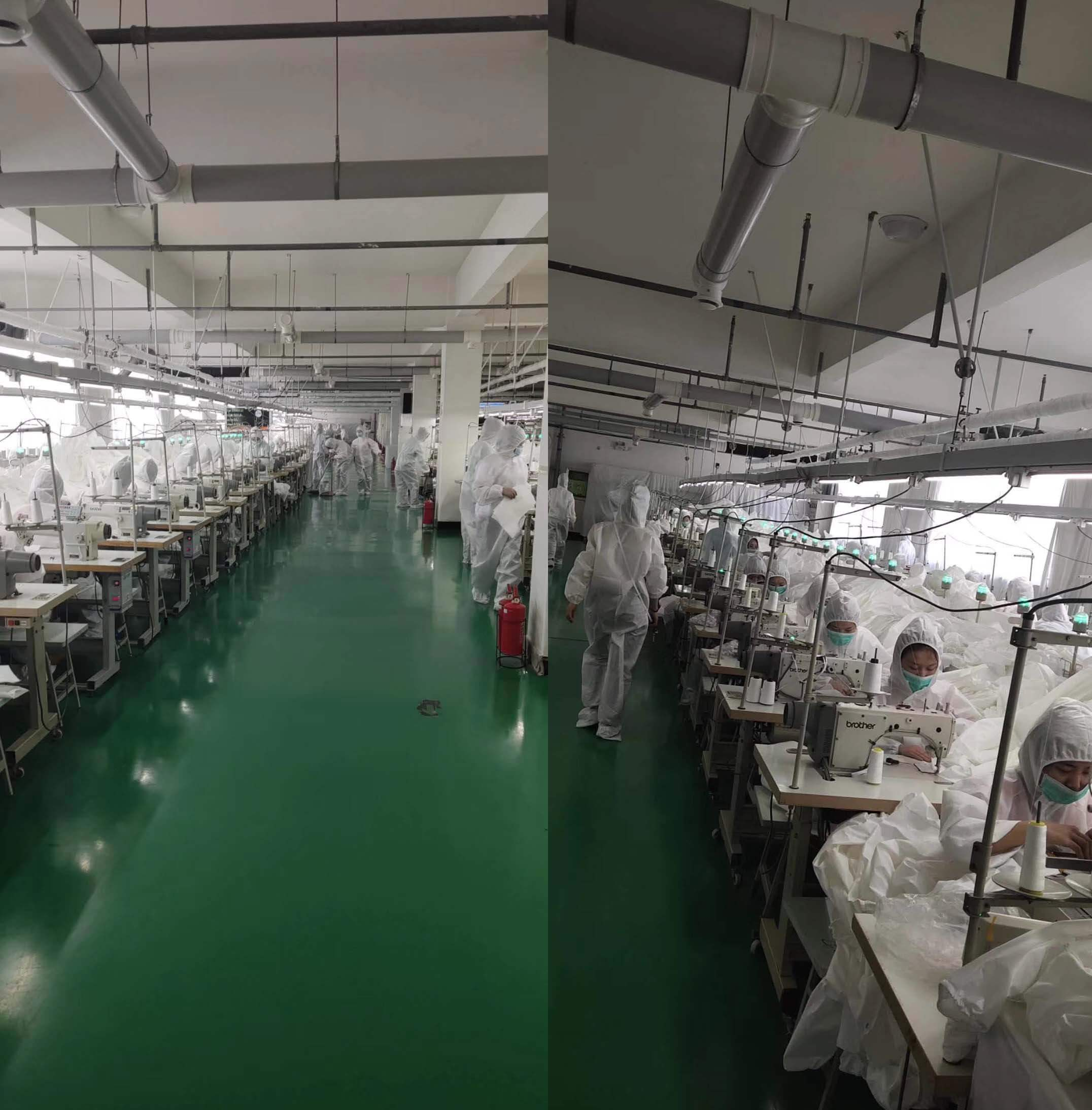 Isolation Gown Production Line