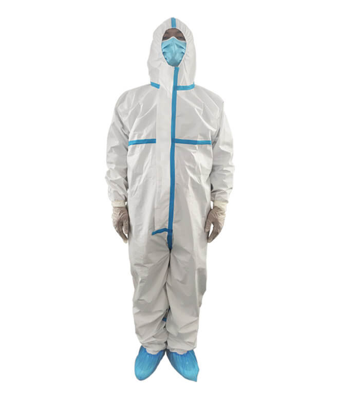 Isolation Gown With High Sealing